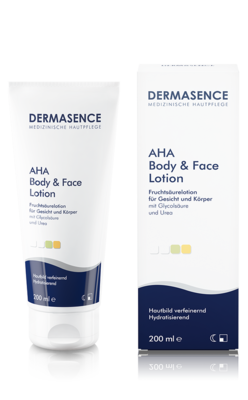 Produktbild DERMASENCE AHA Effects Body & Face Lotion