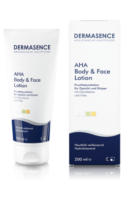 Produktbild DERMASENCE AHA Body & Face Lotion